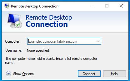 เบื้องต้นเกี่ยวกับ Remote Desktop