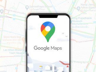 ปลอดภัยหายห่วงในการเดินทางด้วย Application Google Maps