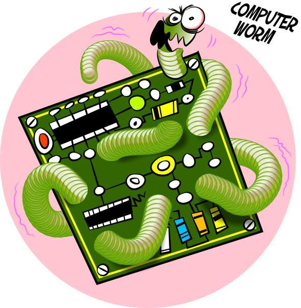 Malware ตัวอันตราย-Worm