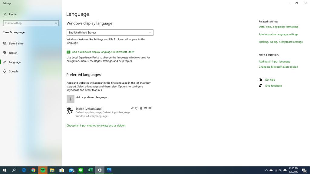 Change Language 3
