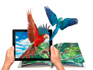 Augmented-reality-book