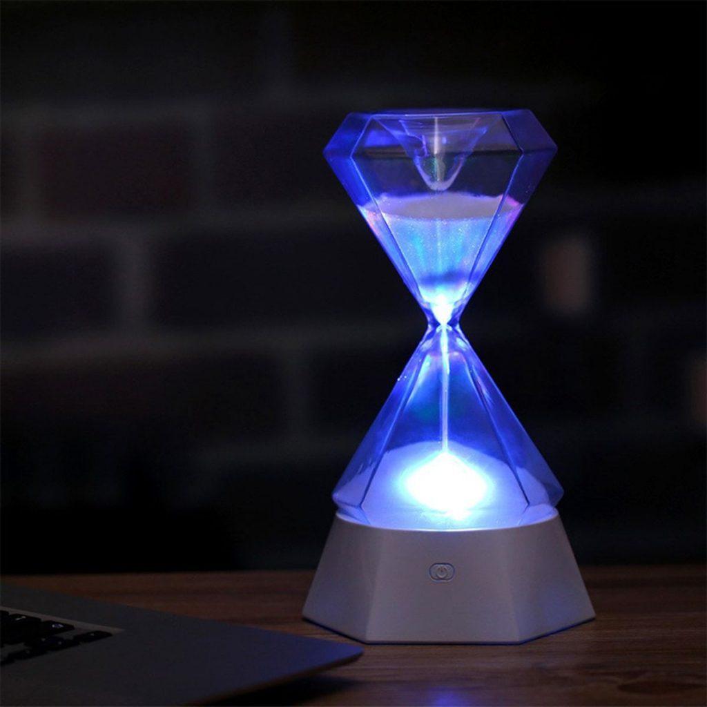 ไฟโคมที่ทำงานด้วยนาฬิกาทราย