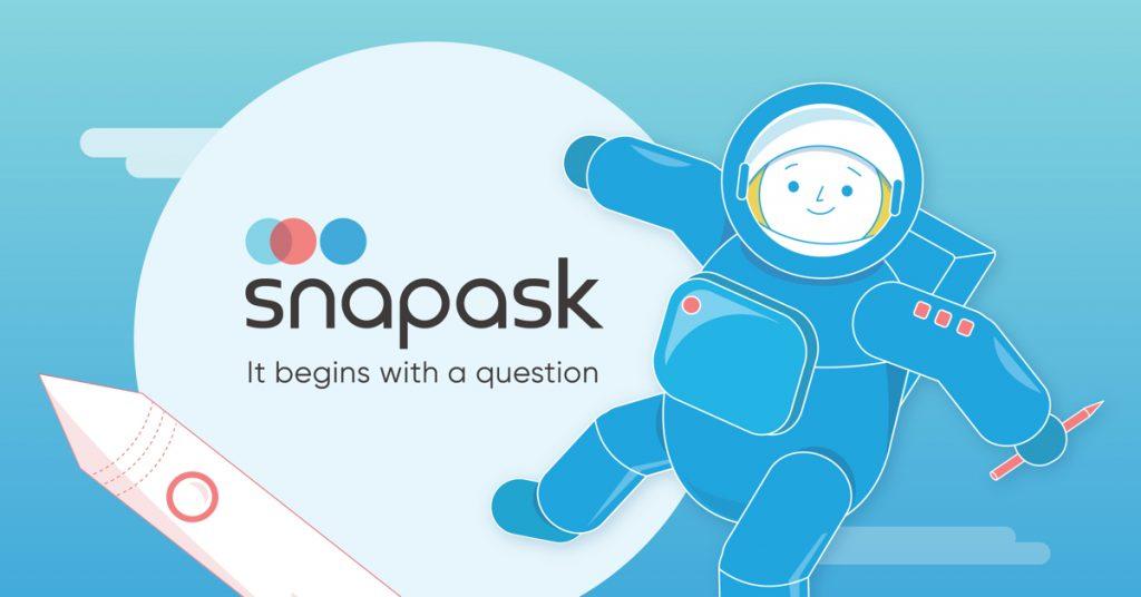 Snap ask  แอพพลิเคชั่น เสริมการเรียน