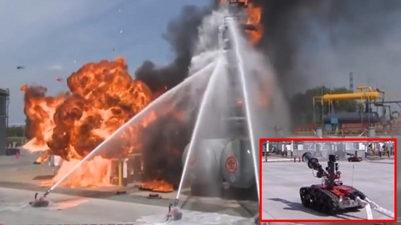 หุ่นยนต์ดับเพลิง