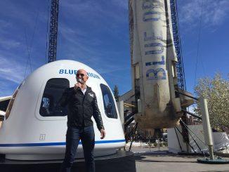 ทัวร์อวกาศของJeff Bezos ซึ่งบริษัท Amazon มีการถ่ายทอดสดให้กับผู้ชมด้วย